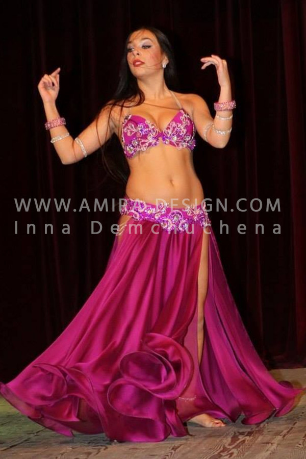 Professional bellydance costume (classic 10 a)