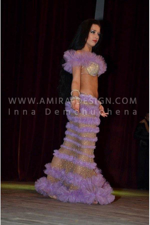 Professional bellydance costume (classic 22 a)