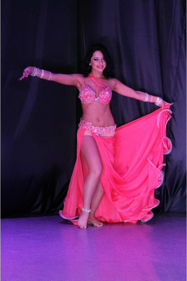 Professional bellydance costume (classic 26a)