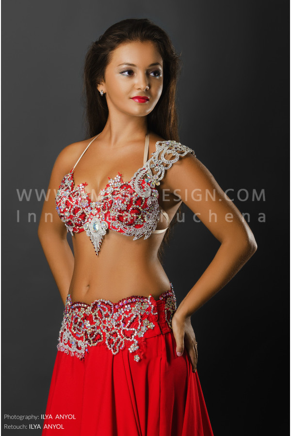 Professional bellydance costume (classic 52a)