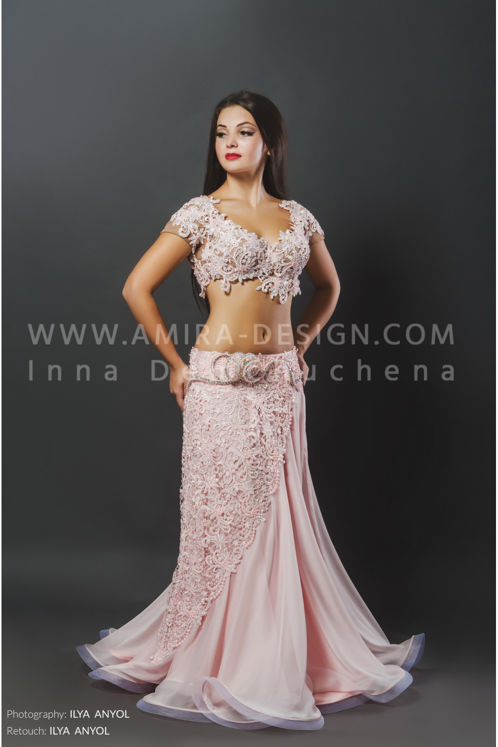 Professional Bellydance Costume Classic60a Gold Belly Dance