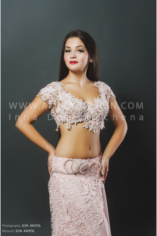 Professional bellydance costume (classic 60a)