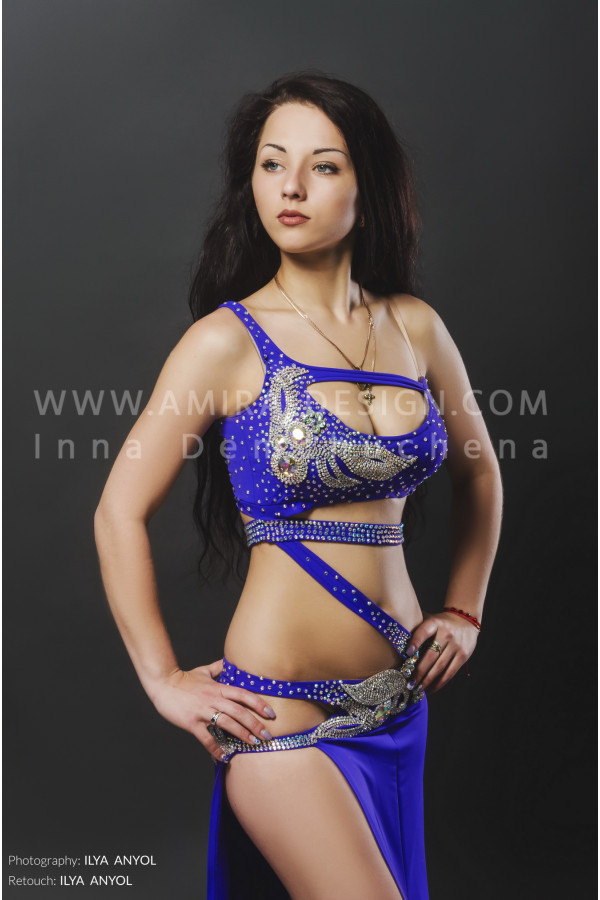 Professional bellydance costume (classic 80a)