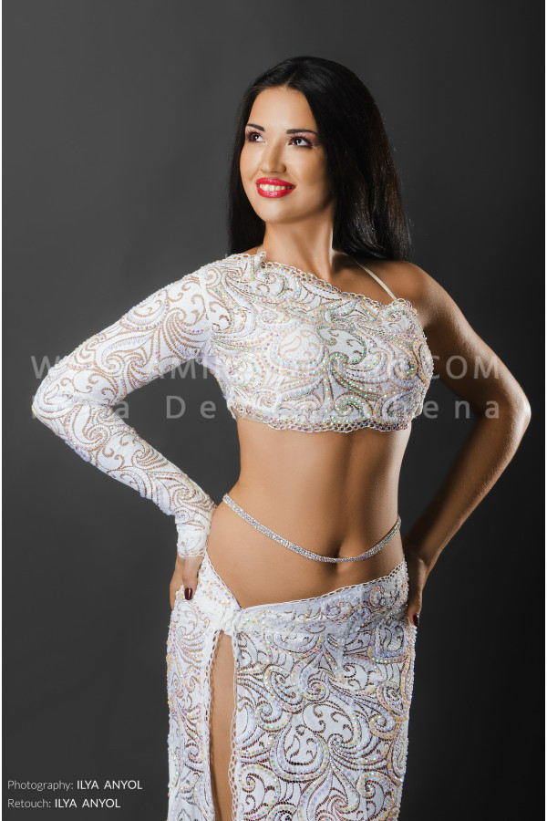 Professional bellydance costume (classic91a)