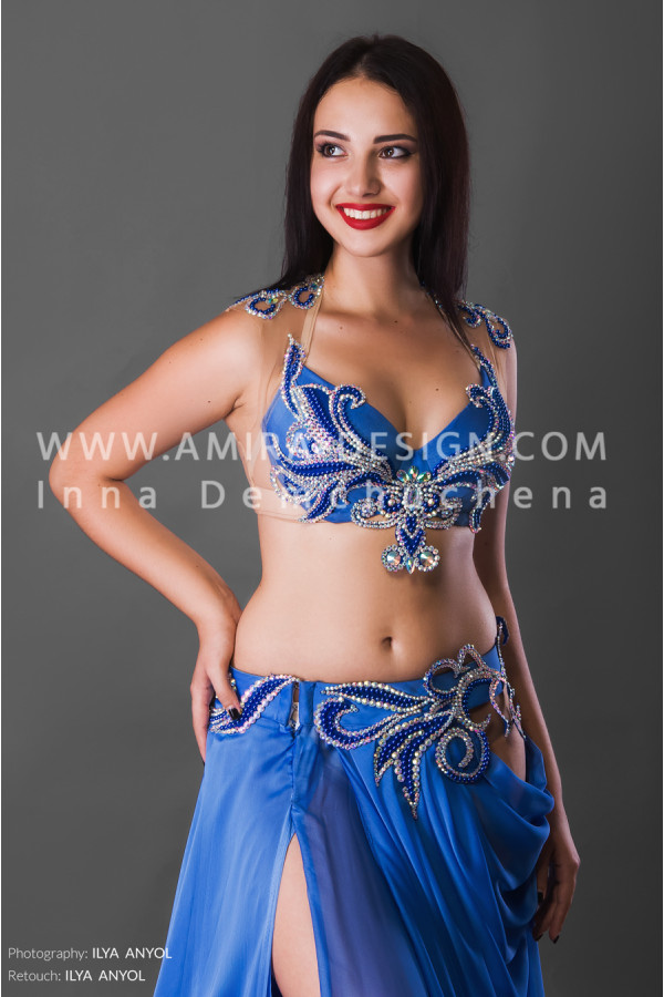 Professional bellydance costume (classic 112a)