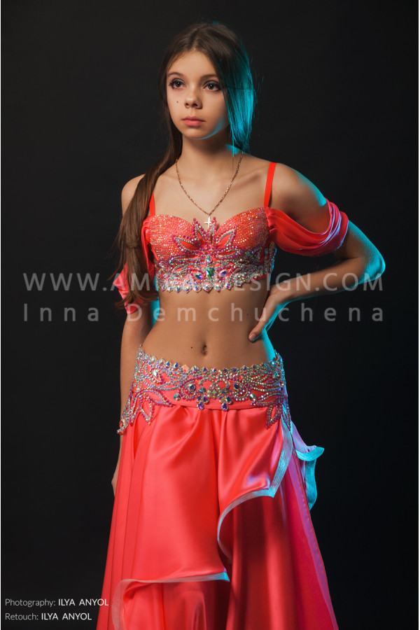 Professional bellydance costume (classic 131a)