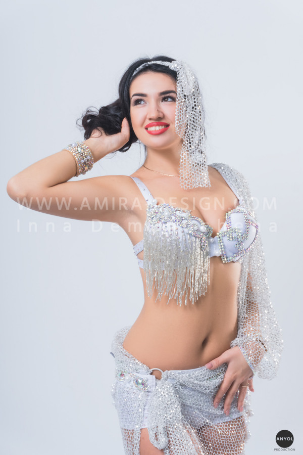 Professional bellydance costume (classic 143a)