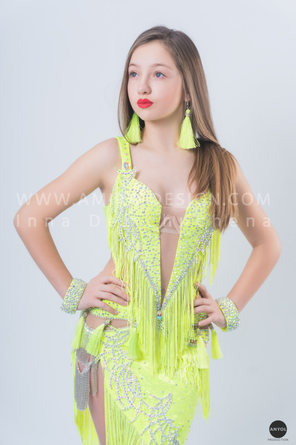 Professional bellydance costume (classic 149a)