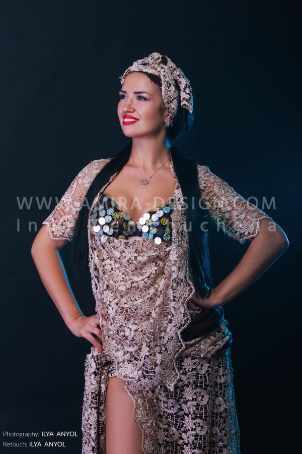 Folklore bellydance costume (folk 45а)