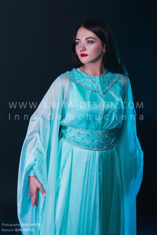 Folklore bellydance costume (folk 46 а)