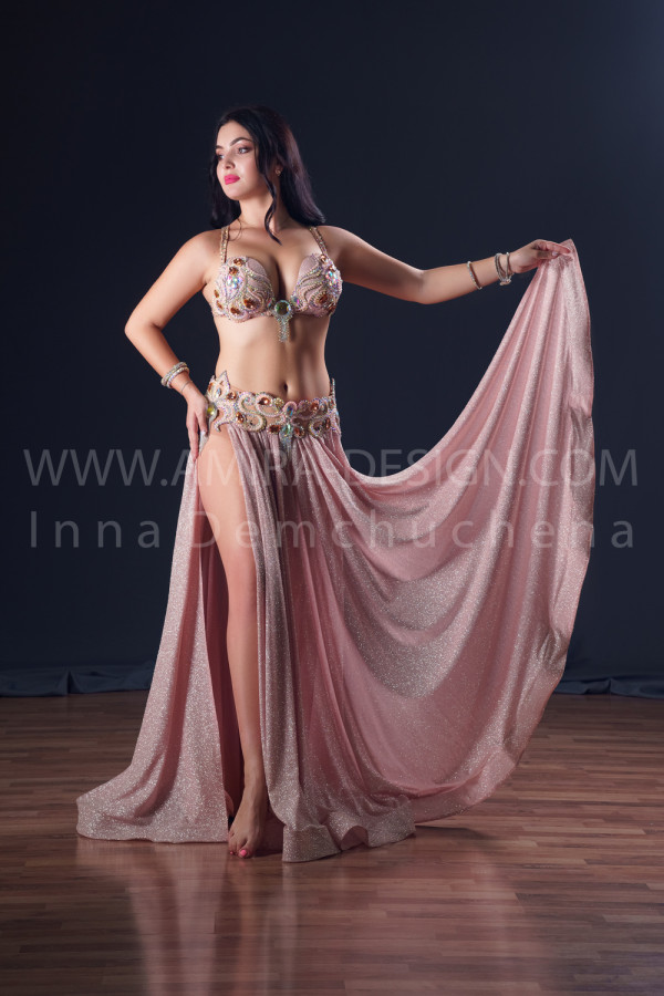 Professional bellydance costume (classic 190a)