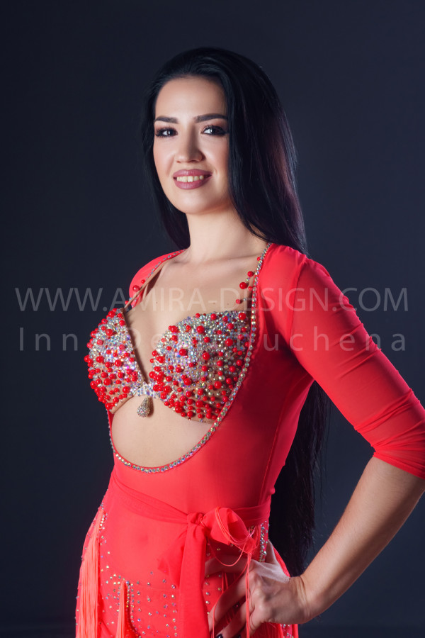 Professional bellydance costume (classic 197a)