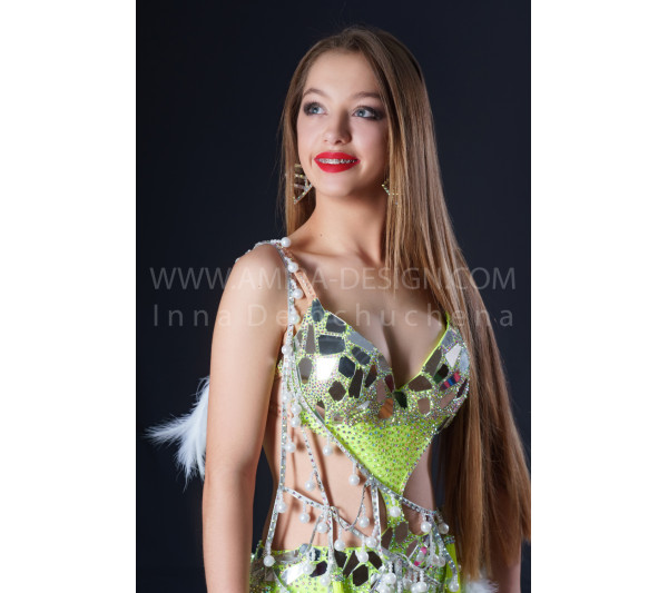 Professional bellydance costume (classic 199a)
