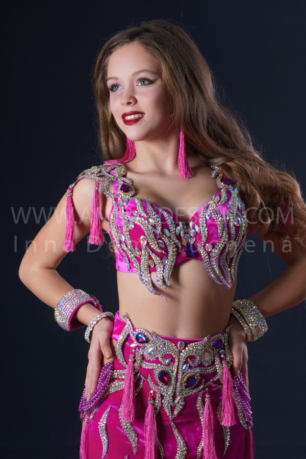 Professional bellydance costume (classic 200a)