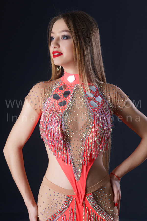 Professional bellydance costume (classic 202a)