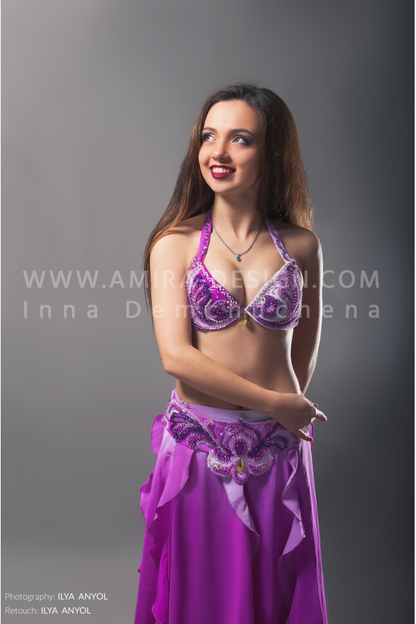 Professional bellydance costume (classic 14 с-used)