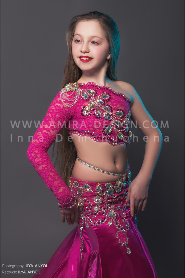 Professional bellydance costume (classic 15 с-used)
