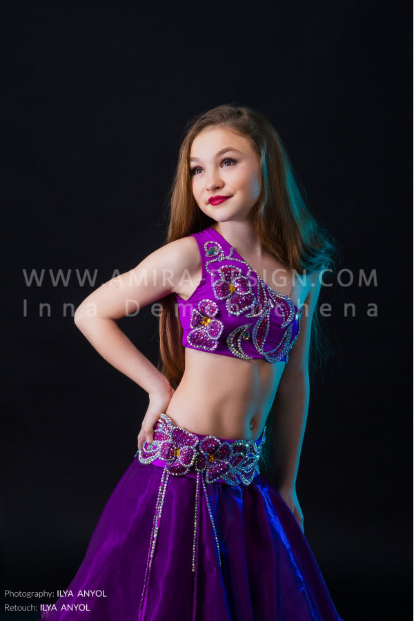 Professional bellydance costume (classic 28 с-used)