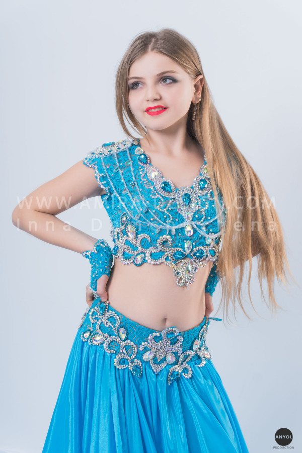Professional bellydance costume (classic 42 с-used)