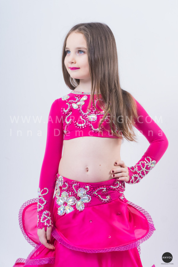 Professional bellydance costume (classic 44 с)