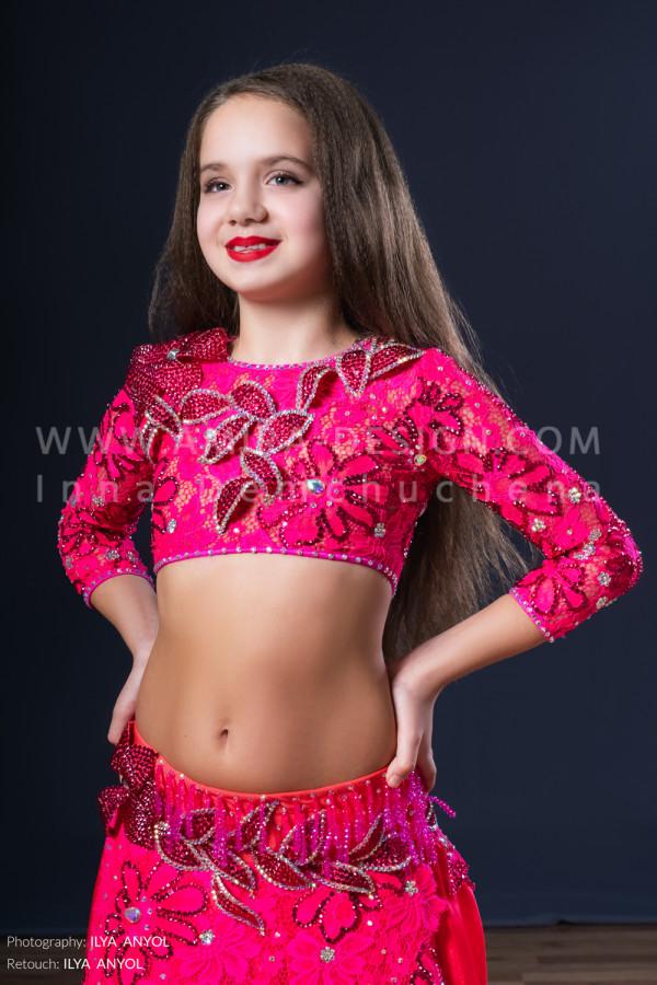 Professional bellydance costume (classic 48с)