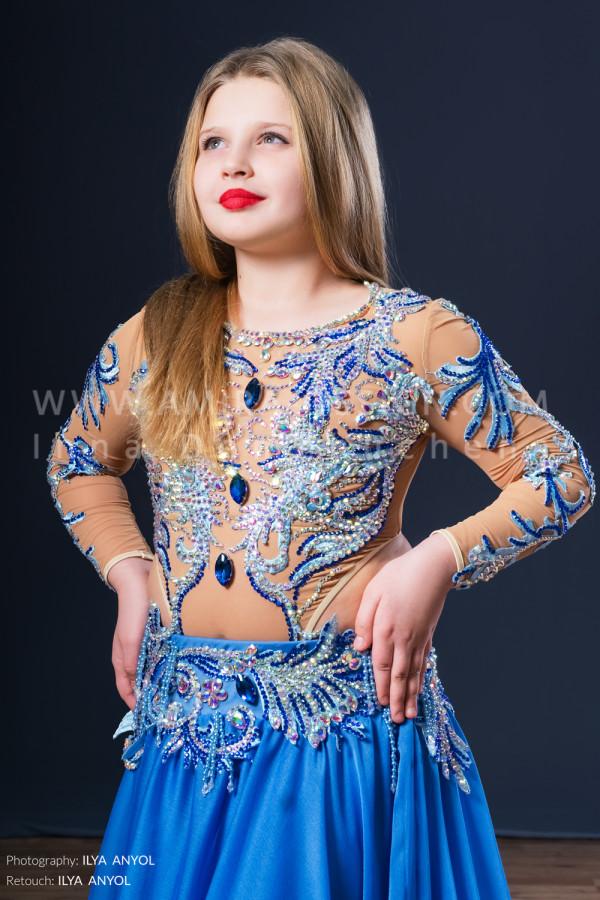 Professional bellydance costume (classic 50с)