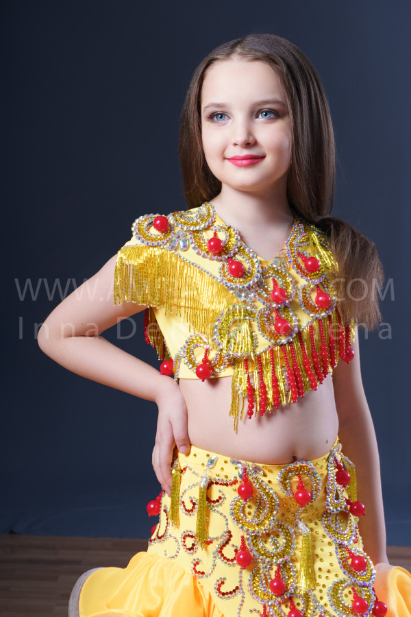 Professional bellydance costume (classic 54с)