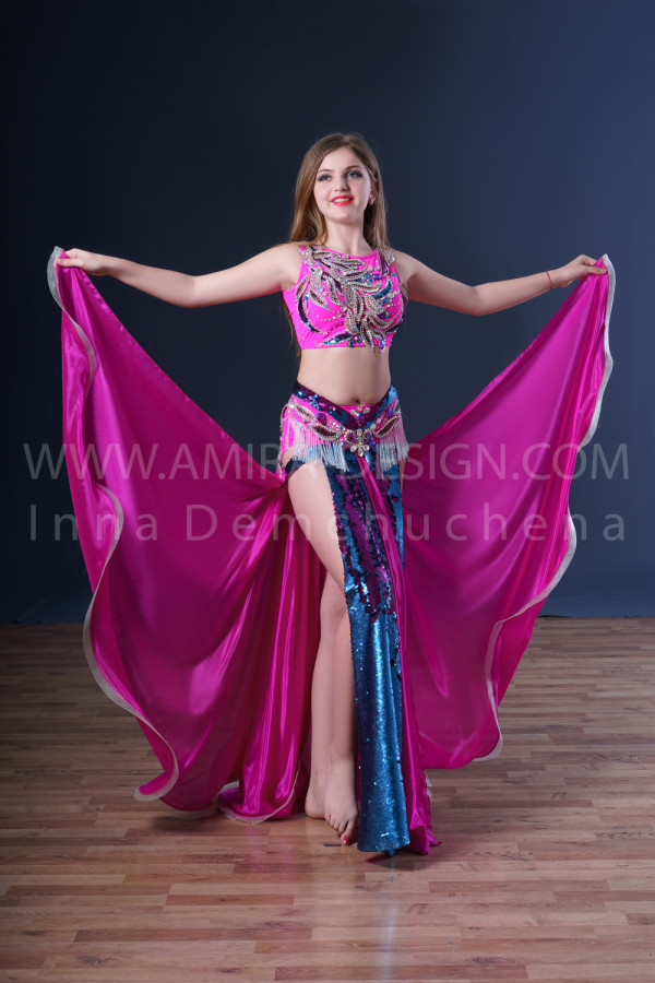 Professional bellydance costume (classic 57с used)