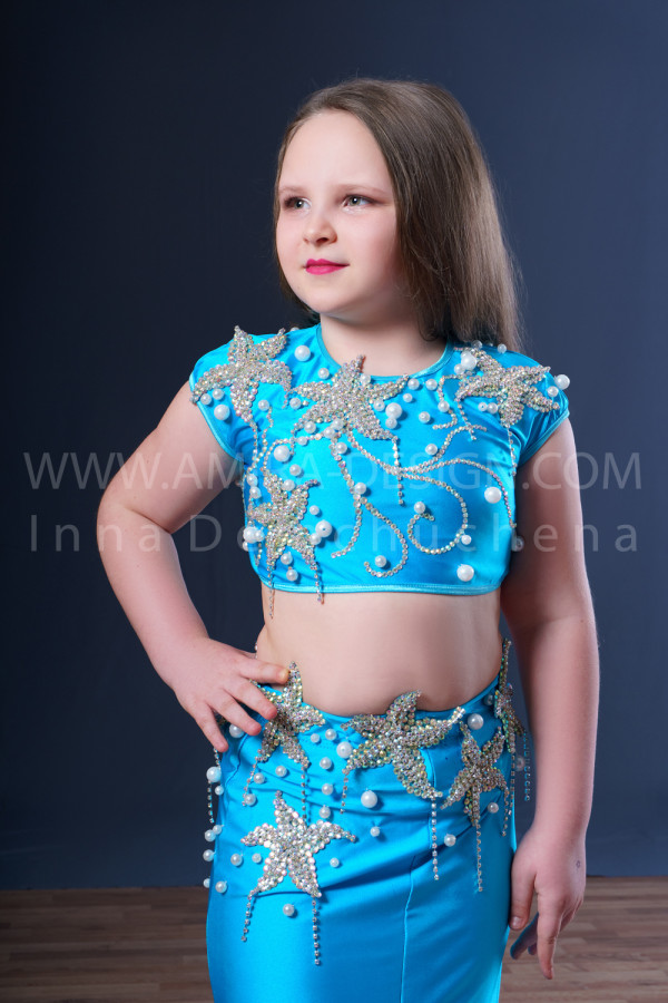 Professional bellydance costume (classic 58с)