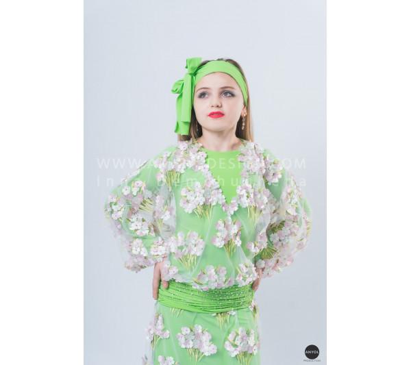 Folklore bellydance costume (folk 15 с-used)