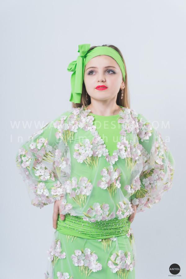 Folklore bellydance costume (folk 15 с)