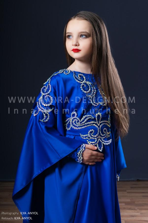 Folklore bellydance costume (folk 18 с)