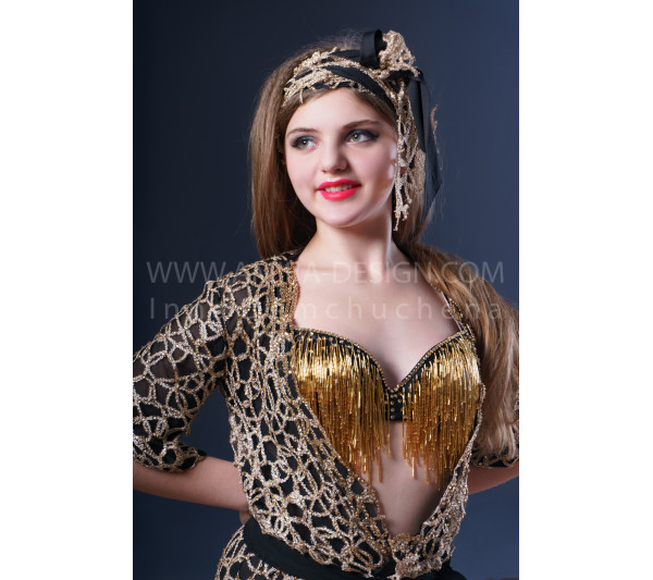 Folklore bellydance costume (folk 22 с-used)