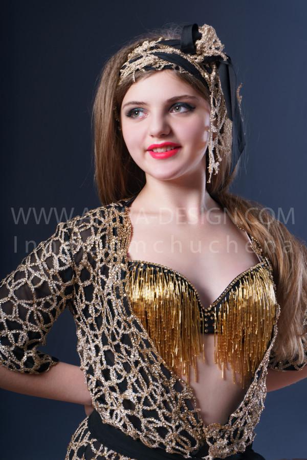 Folklore bellydance costume (folk 22 с)