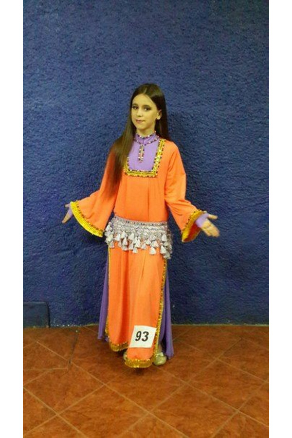 Folklore bellydance costume (folk 3 с)