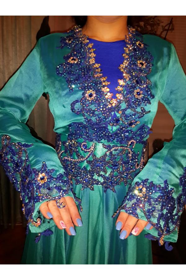 Folklore bellydance costume (folk 17а)