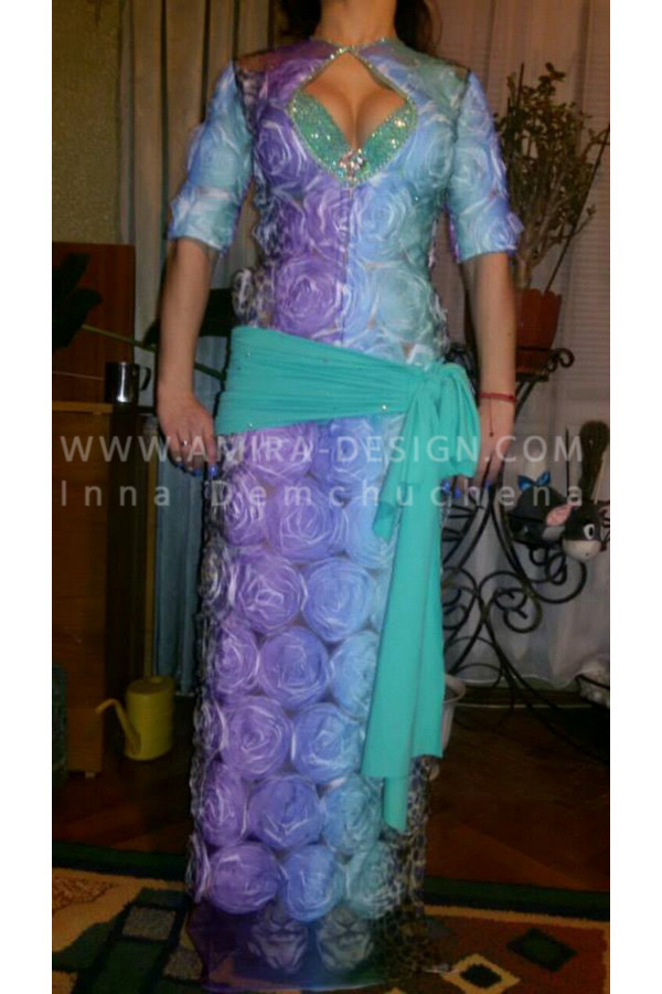 Folklore bellydance costume (folk 19а)