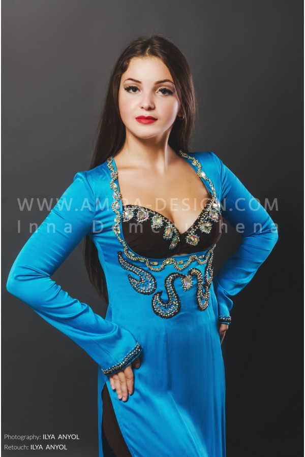 Folklore bellydance costume (folk 21а-used)