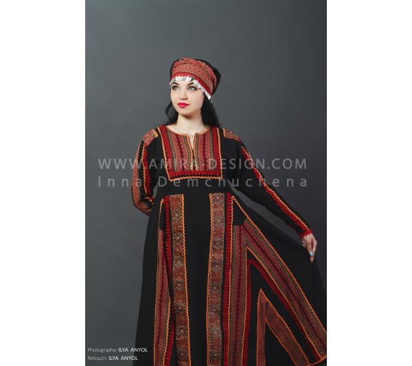 Folklore bellydance costume (folk 25а-used)