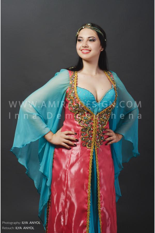 Folklore bellydance costume (folk 30а)