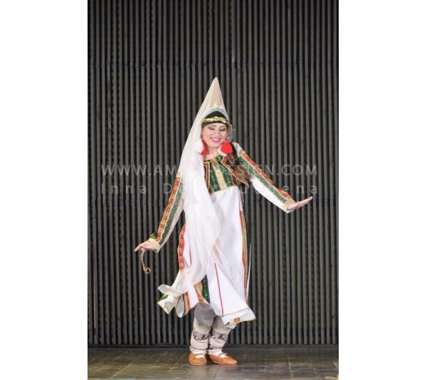 Folklore bellydance costume (folk 31а-used)