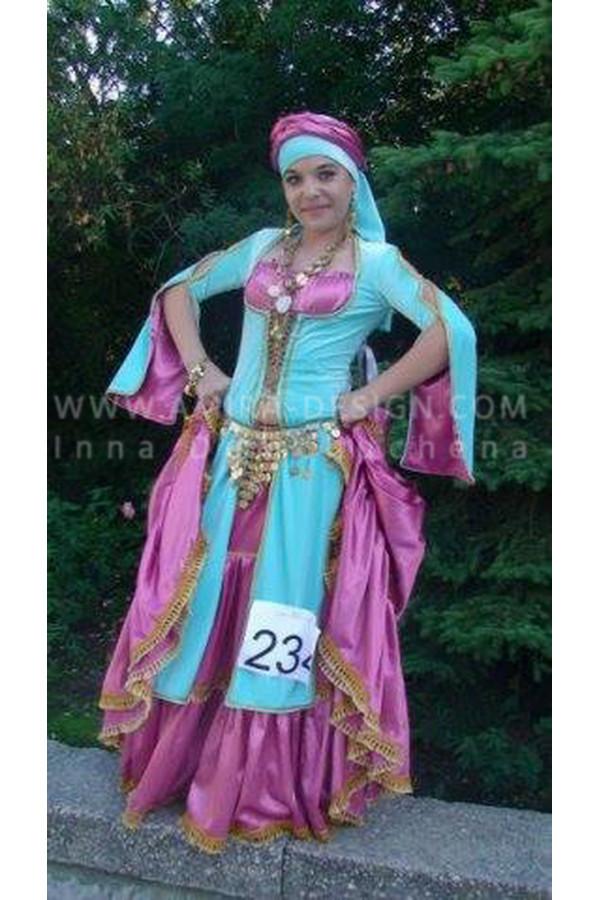 Folklore bellydance costume (folk 4 а)