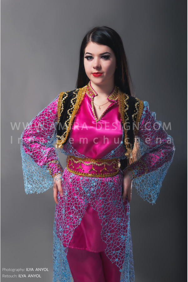 Folklore bellydance costume (folk 6 а-used)