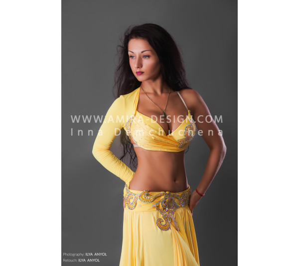 Professional bellydance costume (classic 157a-used)
