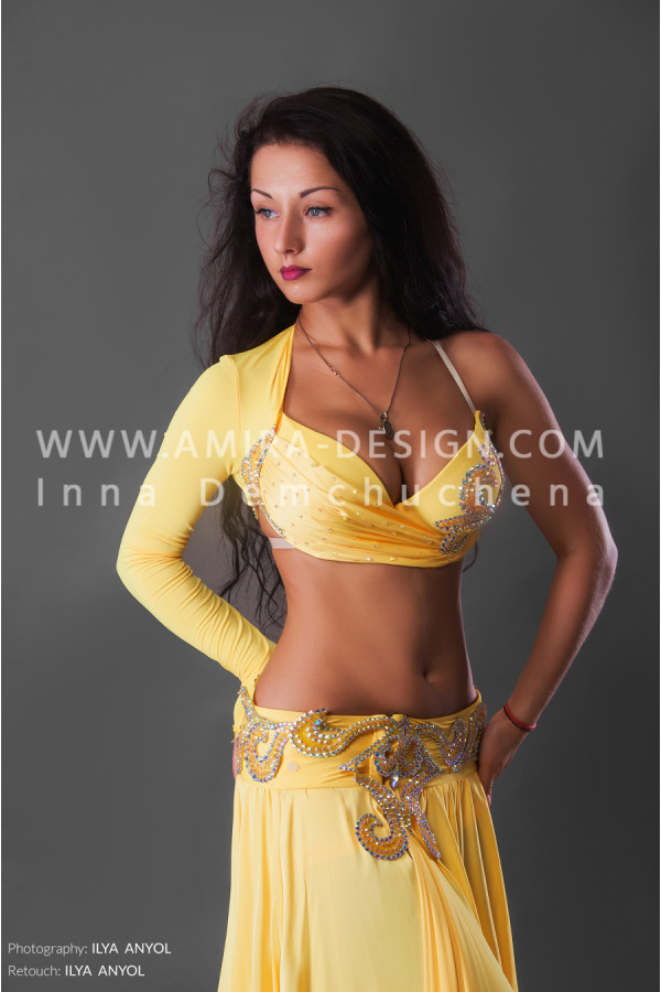 Professional bellydance costume (classic 157a)